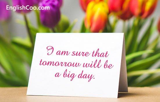 Contoh Paragraf Simple Future Tense tentang Kegiatan Esok Hari