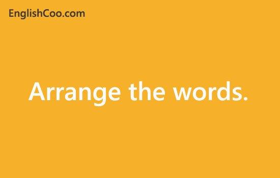 Contoh Soal Simple Future Tense menyusun kata menjadi kalimat bahasa inggris