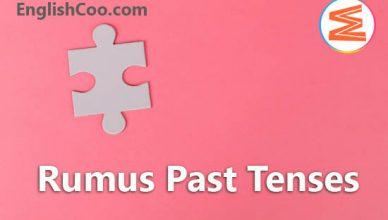 Rumus Past Tenses